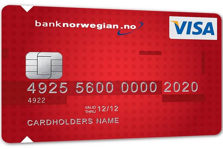 LB Norwegian kortet